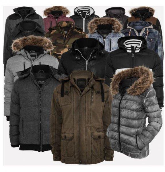 Urban Classics - Winter Jacken und Parkas für Mannlein und Weiblein