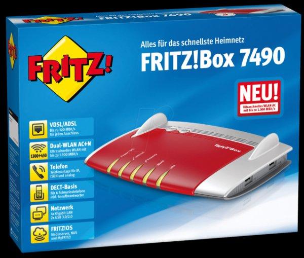 Avm fritzbox 7490 Saturn Wuppertal 149€