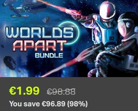 [STEAM] Worlds Apart Bundle (12 Games) für 1,99€ @ Bundle Stars
