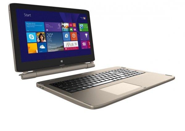 [Ebay] Medion Akoya S6214T Convertible (15,6'' FHD IPS Touch, Intel N3540, 4GB RAM, 64GB eMMC, 500GB HDD, WLAN ac / BT 4.0, Win 8.1 -> Win 10) für 249,99€ [B-Ware]