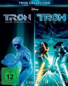 TRON Collection: TRON / TRON Legacy [2 Blu-ray] für 9,99 € > [amazon.de] > Prime