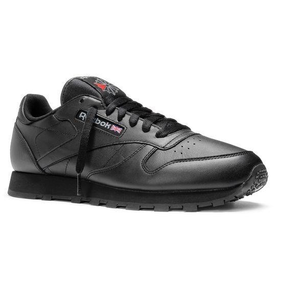 Reebok Classic Leather - schwarz (Gr. 39-46) - weiß (Gr. 40-50) - 43,61€ inkl. Versand
