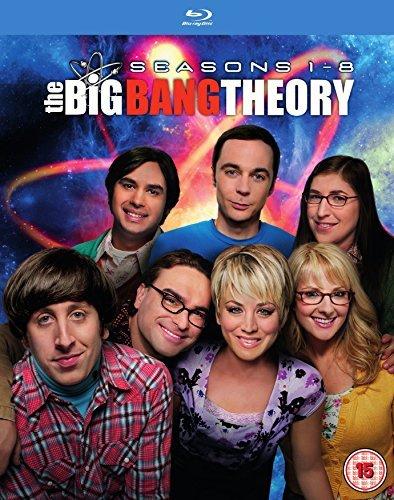 [Blu-ray] The Big Bang Theory - Seasons 1-8 (Seasons 1+2 mit dt. Ton) @ Zavvi.de
