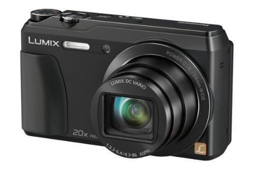 {Lokal Saturn Gummersbach} Panasonic TZ56 Schwarz - Kompaktkamera mit Selfiefunktion & Wlan