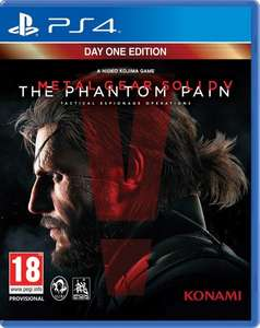 [RAKUTEN] Ps4 - Metal Gear Solid V: The Phantom Pain Day 1 Edition für 45,- € (+ 11,25 € in Superpunkten = 33,75 € effektiv)           PVG: 52,99 €