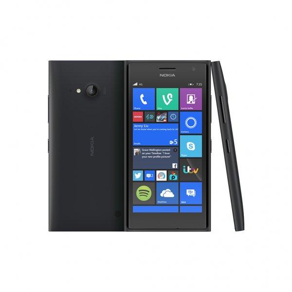Nokia Lumia 735 in schwarz