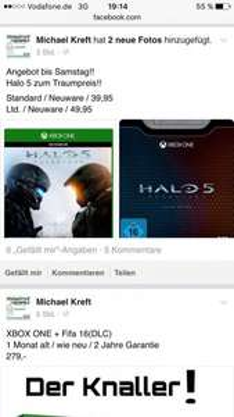Halo 5 39,95 / Limited Edition 49,95 Lokal Bielefeld