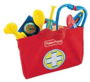 [Amazon.de-Prime] Mattel Fisher-Price - Brilliant Basics Medical Kit, Arzttasche