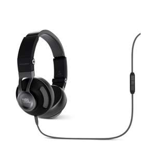 [Amazon.de] JBL Synchros S300A Hochwertiger On-Ear Stereo-Kopfhörer Faltbar mit Abnehmbarem Audiokabel mit Universal 1-Taster-Fernbedienung/Mikrofon Kompatibel mit Android und Apple iOS Geräten - Schwarz/Grau