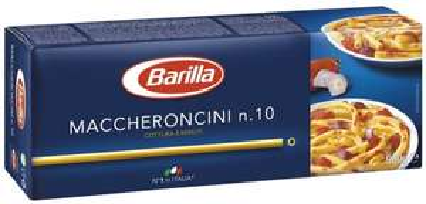 @Amazon Prime (Vorbestellung): 6 x 500 g Barilla Maccheroncini No. 10  für 1,59€