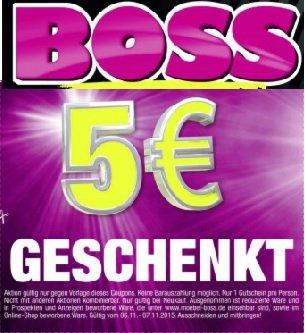 [lokal Cottbus] 5 € SB Möbel BOSS Gutschein am 06. + 07.11.2015