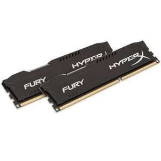 [Mindfactory] 16GB Kingston HyperX FURY DDR3-1866 DIMM CL10 Dual Kit für 77,89€ bzw. 69,90€*