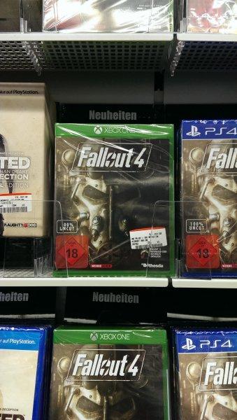 Fallout 4 vor offiziellem Release für Ps4 Xbone und Pc bei Media Markt