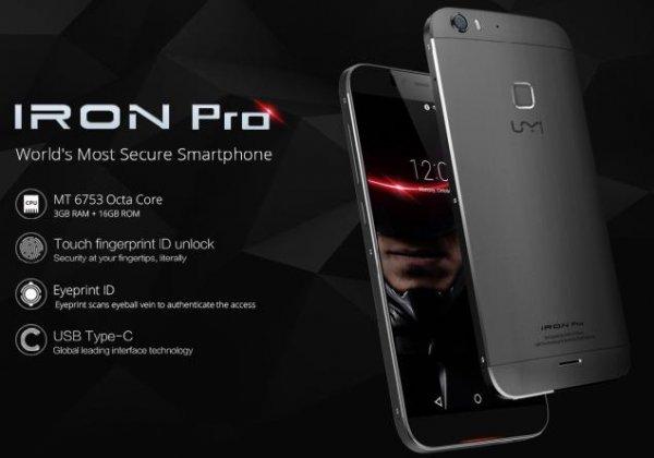 [Banggood] Presale UMI Iron Pro 5.5 Inch 3GB RAM MT6753 64Bit Octa-core 1.3GHz 4G LTE Smartphone - 164,05 €
