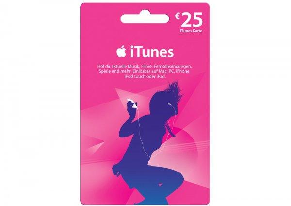 (Real)25€ ITunes Karte für 20€ nur am 12.11.15