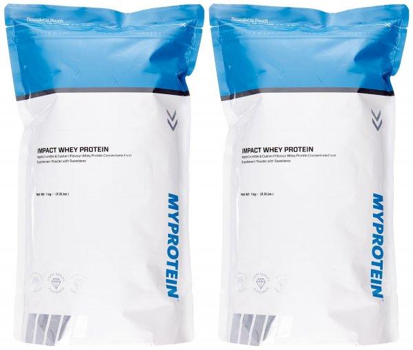 [AmazonDESparAbo oder Prime] Viele Myprotein Impact Whey bzw. Impact Whey Isolate 2er Packs