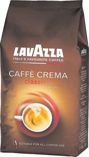 [Saturn] LAVAZZA Cafe Crema Classico, Kaffeebohnen, 1 kg