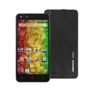 [Real] Medion LIFE® X5001 (MD 98499) Dual-SIM Smartphone 12.7 cm (5 Zoll) 2 GHz Octa Core 16 GB 13 Mio. Pixel Android™ 4.4