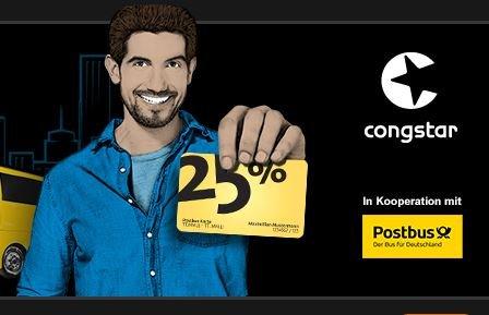 congstar Tarif bestellen & Postbus Karte dazu bekommen (25% Rabatt für 1 Jahr und Kaffee)