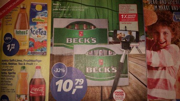 [real] 2 Kisten Becks + Selfie-Maker