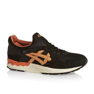 [surfdome.de] Asics Tiger Gel-Lyte V Trainers Shoes Black Tan 42,66€ UVP 106,67