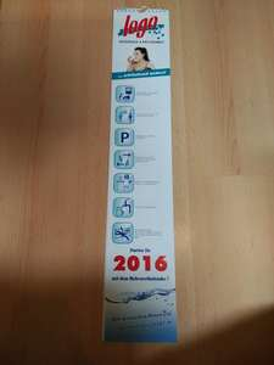 [Logo Getränke Fachmarkt] Gratis Kalender mit Coupons (2016) bei Getränkekauf
