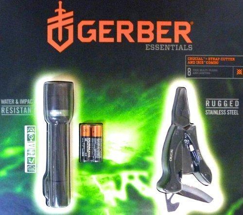 Combo-Angebot von Gerber (Crucial Multitool und Iris Led-Taschenlampe)  für 13,86