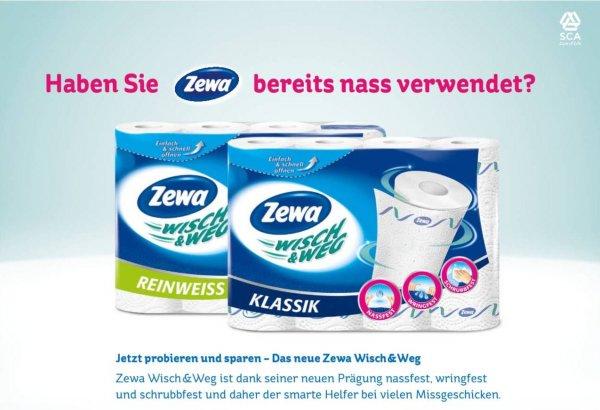 [Rossmann] Zewa Küchenrolle für  0,99 €/ 0,89 €