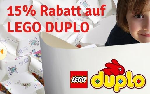 {myToys} 15% + 12€ Gutschein auf Duplo z.B. Lego Duplo Familienhaus für 33,44€ (idealo: ab 47,98)