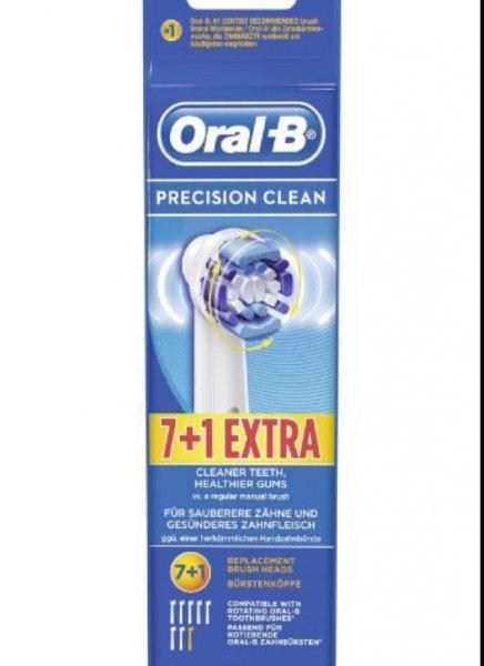 [Amazon Prime] 8 Oral B Precision Clean Aufsteckbürsten für 14,99 €