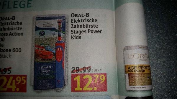 [Rossmann] Oral B Cars elektrische Zahnbürste