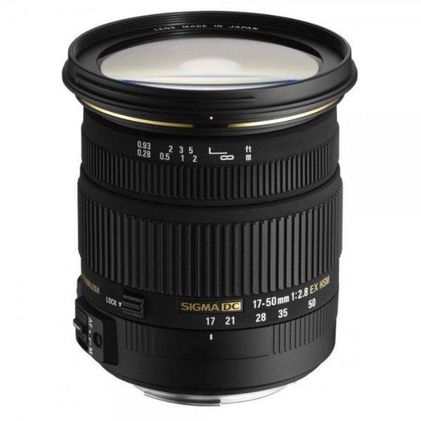 Sigma 17-50mm F2,8 EX DC OS HSM (Sony/Minolta) für 206,56 € @Amazon.it