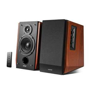 Edifier R1700BT Studio Bluetooth-Lautsprechersystem (66 Watt) mit Infrarot-Fernbedienung braun für 126,65 € @Amazon.co.uk