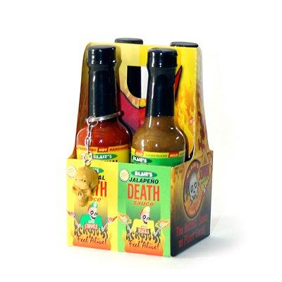 Blair's Death Sauce 4 Pack 2oz. 4x 59ml für 13,99 EUR bei scovilla.com