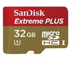 [Saturn OnlyOnlineOffers] SANDISK Extreme® PLUS microSDHC™ 32 GB UHS-I Speicherkarte mit Adapter für 22,-€ Versandkostenfrei