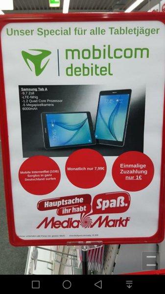[Lokal MM Papenburg] Samsung Galaxy Gab A mit 1GB D1 für effektiv 0,81€ im Monat