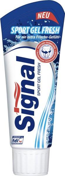[Amazon.de-Sparabo] Signal Sport Gel Fresh Zahncreme, 6er-Pack (6 x 75 ml)   ab 2,30€