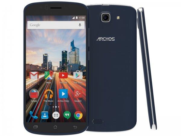 [Mediamarkt] Archos 50E Helium LTE + Dual-SIM (5'' HD IPS, Qualcomm Snapdragon 210 Quadcore, 1GB RAM, 8GB intern, 5MP + 8MP mit AF und LED-Blitz, 2100 mAh, kein Hybrid-Slot, Android 5.1) für 99€ versandkostenfrei