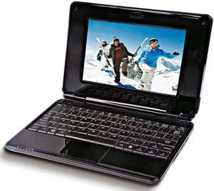 Coby NBPC 724 17,8 cm (7 Zoll) Netbook (Imapx 210, 256MB RAM, Android) schwarz