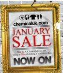 January Sale bei chemicaluk - Klamotten aus England