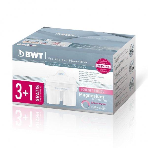 (Amazon.de-Prime) BWT 3+1 Filterkartusche Magnesium Gourmet für 10€