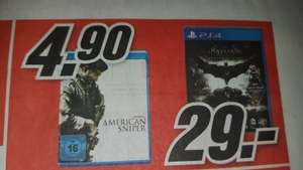[lokal MM Wuppertal] Batman Arkham Knight für 29€