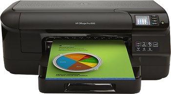HP Officejet 8100 Pro (ePrint, Ethernet, 4 separate Tanks) Duplexdruck - 65,50 Mit Gutscheincode