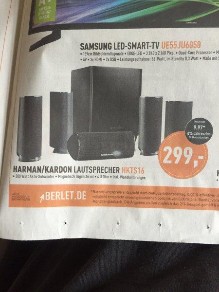 Harman Kardon HKTS16 für 299€ (ggf. +Versand) Idealo: ab 399€