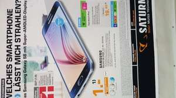 (Lokal Saturn Siegburg) Samsung S6 Tarif für Telekomflat plus Wunschflat plus Internetflat Einmalig 1 Euro und 19.99 Euro im Monat ! Telekomnetz !