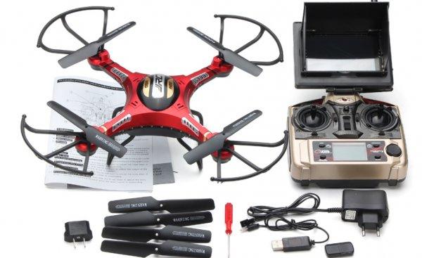 Bestpreis für einen RTF FPV Quadrocopter JJRC H8D für 90,90€ (102,7€) von Banggood