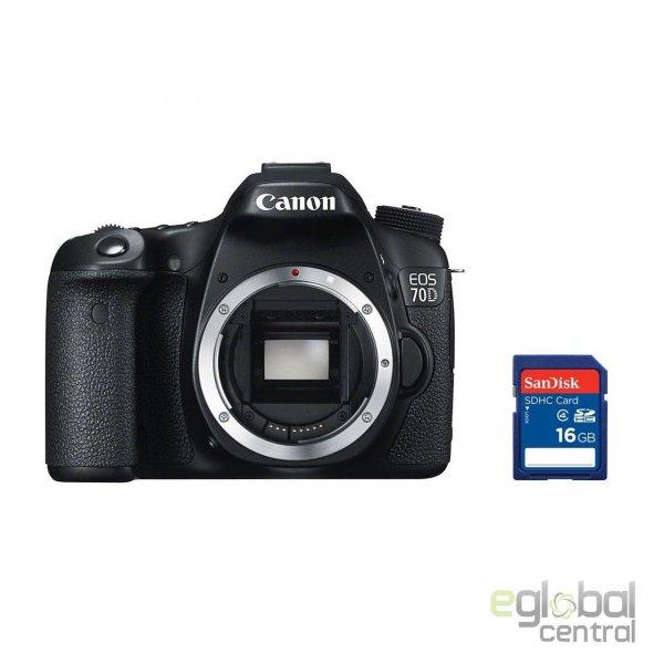 [ebay] Canon EOS 70D Body + 16 GB class 4 SD Karte