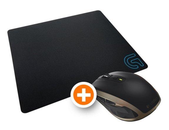 [notebooksbillier.de] Logitech Bundle MX Anywhere 2 kabellose mobile Maus und Mauspad G240