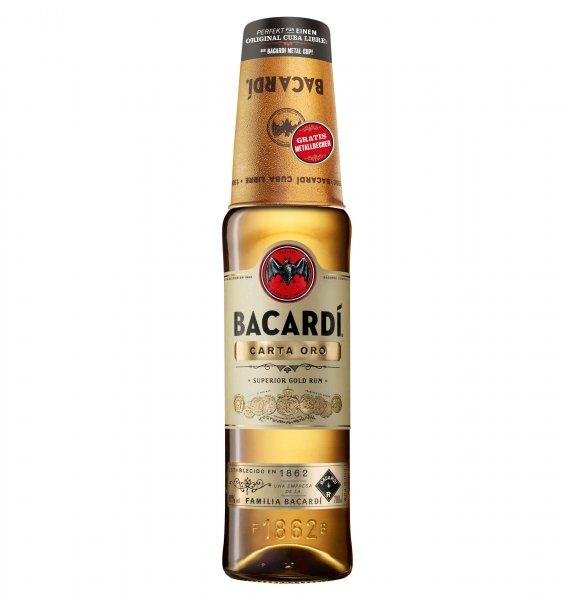 [Galeria Kaufhof] Bacardi Carta Ora Rum inkl. Metal Cube (1 x 0.7 l) für 10.79€ mit 10% Qipu Rabatt/ Bacardi Carta Blanca Rum Poker Edition 10,07 €