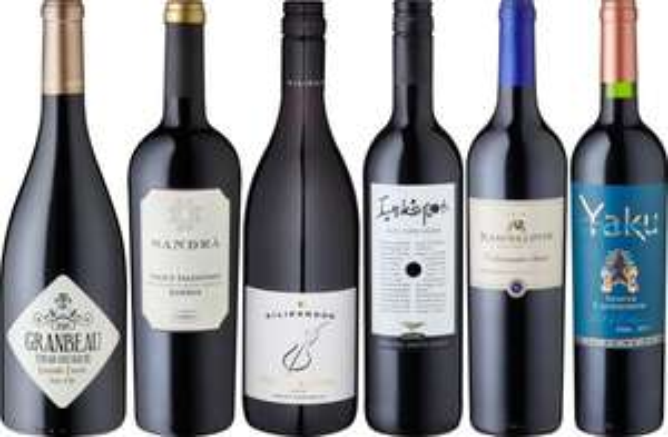 [Amazon Blitz] - Weinkontor Rotweinreise um die Welt trocken (6 x 0.75 l) - 39,99